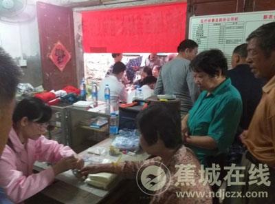 卫生院入村开展高血压防治知识讲座
