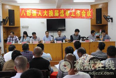 八都镇:人大换届选举,责任重于泰山