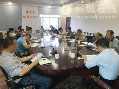 漳湾镇:召开人大换届选举阶段工作会议