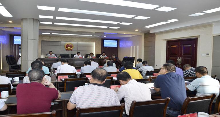 蕉城区十六届人大常委会第三十五次会议召开