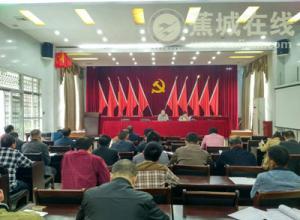 飞鸾镇召开2016届人大换届选举专题培训会