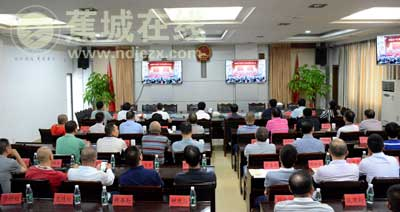 我区组织收听收看中国共产党第十九次全国代表大会开幕式直播盛况