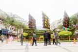"""蕉南:""""烧烤街""""变身绿雕文化广场"""