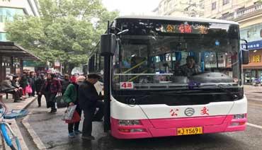 """公交车""""换新颜""""140辆新公交投入运行"""