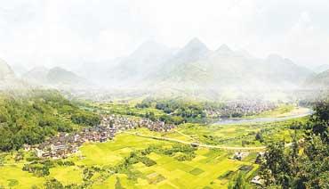 九都:打造绿色百里画廊 建设生态特色小镇