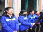 林文芳莅蕉慰问环卫工人与公安民警