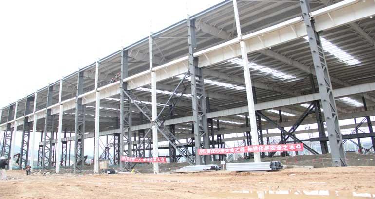 北区供应商厂房项目建设加速度