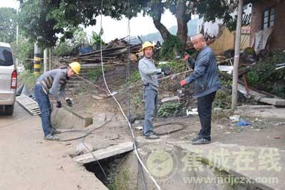 蕉城持续开展三屿村集中腾空依法拆除专项行动