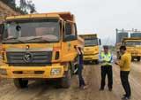 蕉城交警开展大货车专项整治