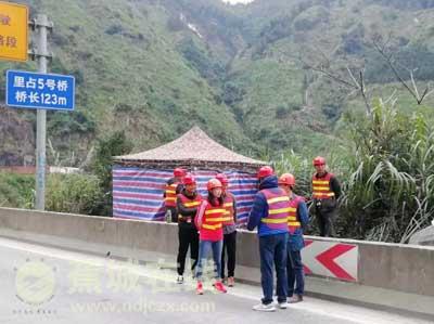 蕉城公路分局加强在建工程安全生产检查