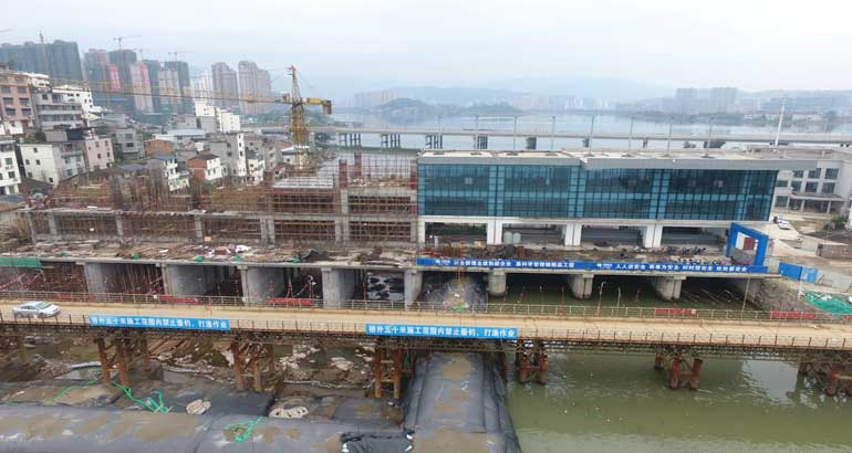 东湖塘二十五孔闸二期项目加速度