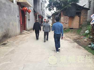 霍童司法所开展刑满释放人员涉黑涉恶摸排活动