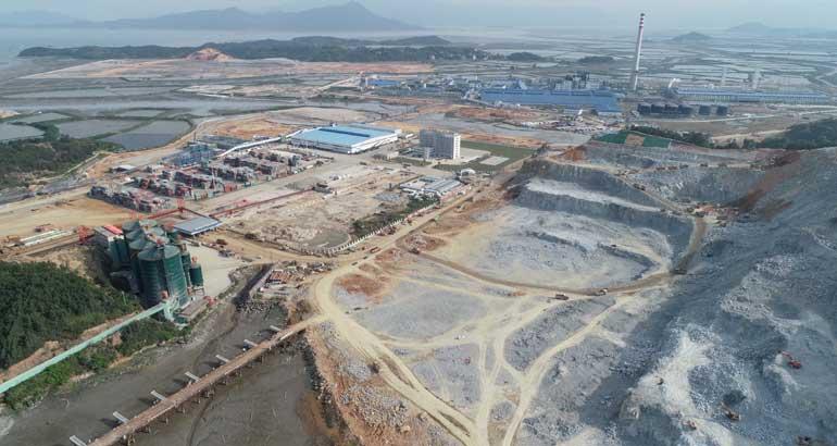 漳湾七号泊位建设速度再创新高
