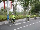 """""""魅力单车、绿色发展、低碳环保""""环保骑行圆满结束"""