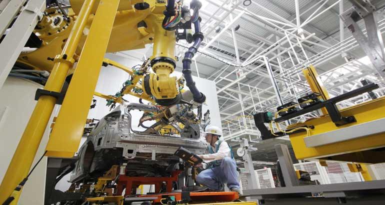 上汽宁德(蕉城三屿)基地项目第一台工艺验证车即将下线投产