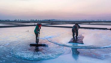 宁德海盐生产始末