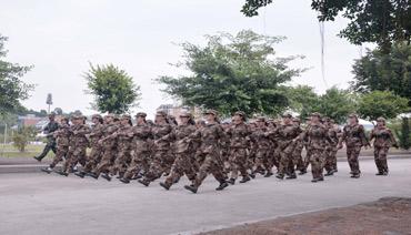 宁德师院:新生迎来军训第一课