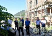 区政协主席蓝晓平赴金涵畲族乡指导开展农村人居环境整治工作