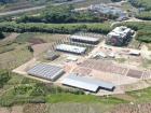 田园综合体核心区建设项目标志棚封顶