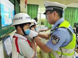 蕉城交警:交通安全进校园