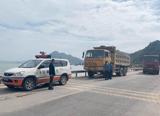 3辆货物脱落扬撒运输车辆被查处