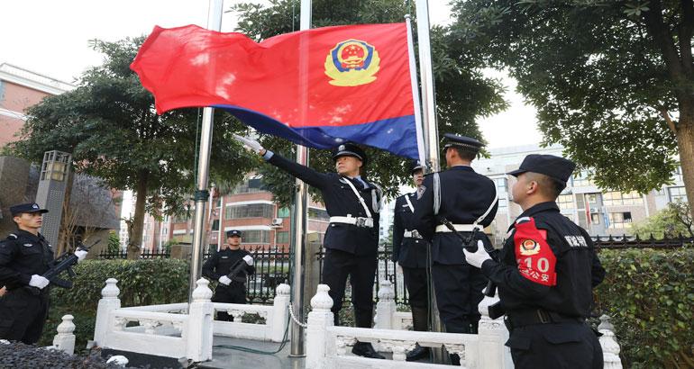 蕉城公安迎接首个警察节