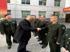 区领导开展春节拥军慰问活动