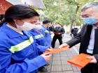 区领导春节前慰问一线工作人员和宗教人士